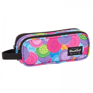 Blackfit 8 Cookies double pencil case
