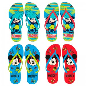 Disney Mickey assorted flip flops