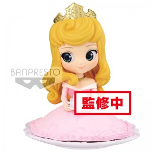 Disney Sleeping Beauty Princess Aurora Q Posket Sugirly B figure 9cm