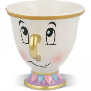 Disney Beauty and Beast Chip 3D mug