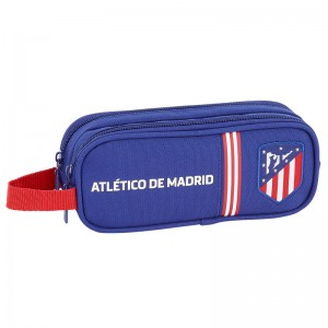 Atletico Madrid Blue double pencil case