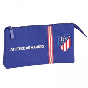 Atletico Madrid Blue triple pencil case