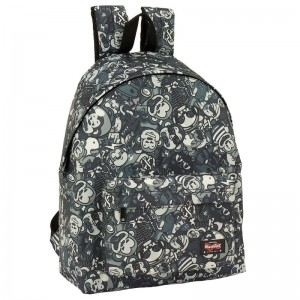 Blackfit8 Black Monkey backpack 42cm