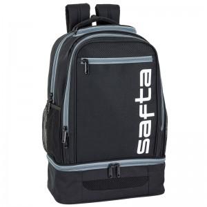 Safta Grey multisport adaptable backpack 47cm
