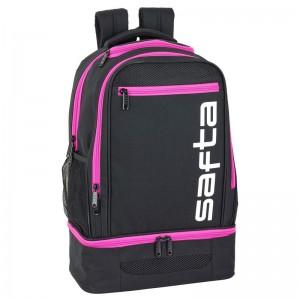 Safta Pink multisport adaptable backpack 47cm