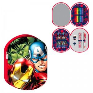 Marvel Avengers 3D triple pencil case