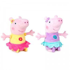 Peppa Pig Peppa Dancer assorted plush toy 42cm
