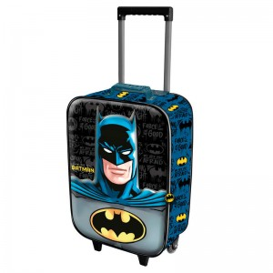 DC Comics Batman Knight 3D trolley suitcase 2 wheels 52cm