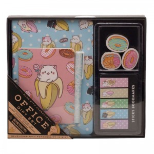 Bananya stationery set