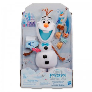 Disney Frozen Olaf Snacktime Surprise figure