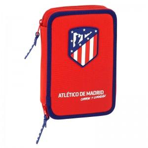 Atletico Madrid double filled pencil case 34pcs