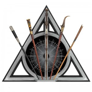 Fantastic Beasts Deathly Hallows expositor assorted wands