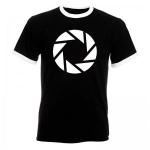 Portal 2 Aperture Symbol t-shirt