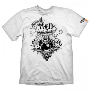 Call of Duty Black Ops 4 Battery Mad t-shirt