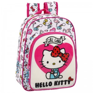 Hello Kitty Girl Gang adaptable backpack 34cm