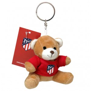 Atletico Madrid bear plush key chain