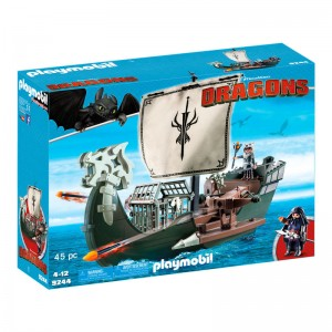Playmobil How To Train your Dragon Dragons Drago's Ship