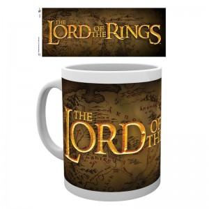 Lord of the Rings logo mug