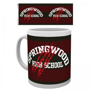 Nightmare on Elm Street Springwood mug