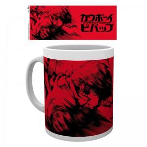 Cowboy Bebop Spike red mug