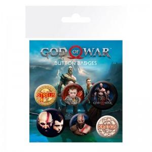 God of War Mix badge pack