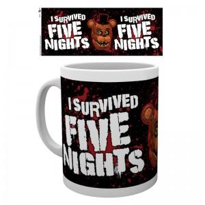 Five Nights at Freddys I Survived mug