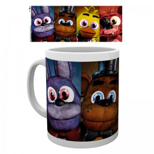 Five Nights at Freddys faces mug