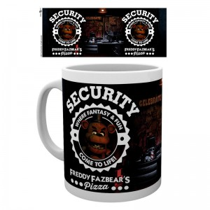 Five Nights at Freddys Security mug