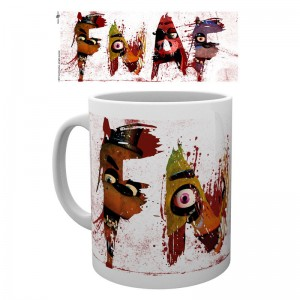 Five Nights at Freddys Letters mug
