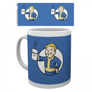 Fallout 4 Vault Boy Holding mug