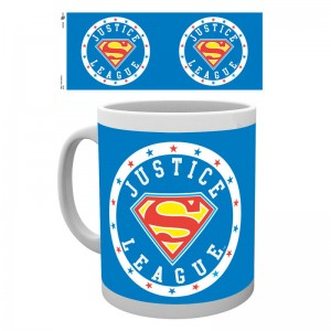 DC comics Superman Justice League mug