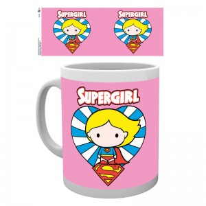 DC Comics Justice League Supergirl Chibi mug