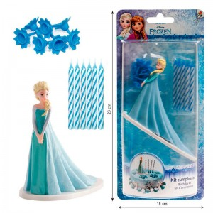 Disney Frozen cake decoration kit candels