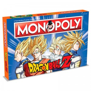Dragon Ball Z monopoly game