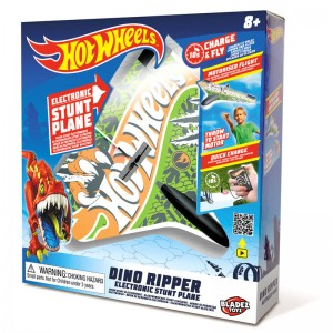 Hot Wheels Dino Ripper electronic airplane
