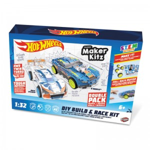 Hot Wheels Double Pack Pull Back manufacture
