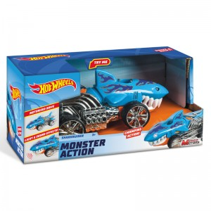 Hot Wheels Monster Action Sharkruiser car