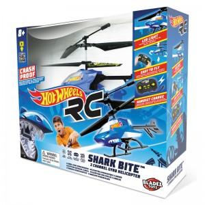 Hot Wheels Shark Bite radio control helicopter