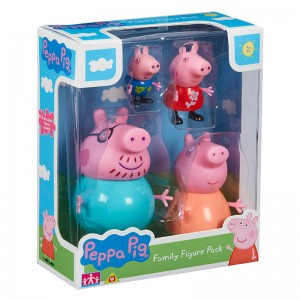 Peppa Pig Family figures pack 4