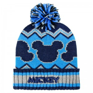 Disney Mickey premium jacquard bobble hat