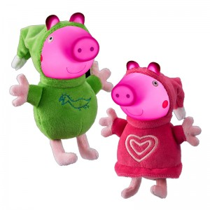 Peppa Pig Glow Friends assorted plush toy