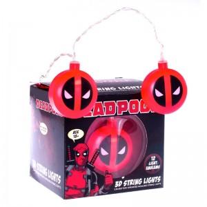 Marvel Deadpool 3D string lights