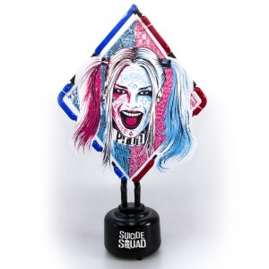 DC Comics Suicide Squad Harley Quinn neon lamp