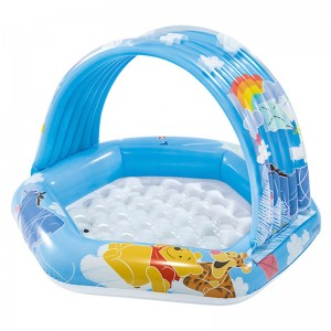Baby pool awning Winnie the Pooh
