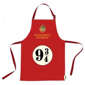 Harry Potter Hogwarts Express 9 3/4 apron