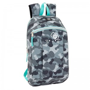 Hello Kitty camouflage backpack 39cm