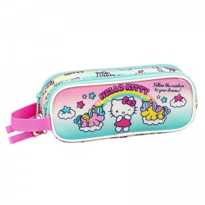 Hello Kitty Candy Unicorn double pencil case