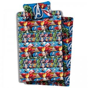 Marvel Avengers sheets set bed 105cm