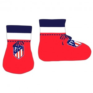 Atletico Madrid baby bootees