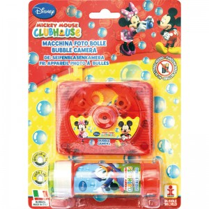 Disney Mickey bubble camera + bottle bubbles